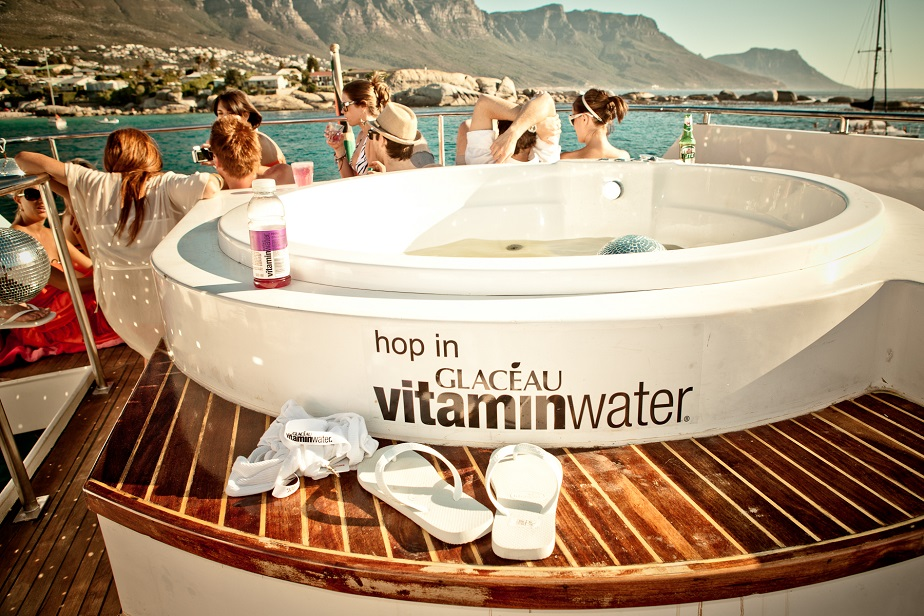 Glacéau vitaminwater owned the summer 2