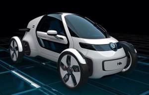 Volkswagen Nils: Single Urban Commuter Concept