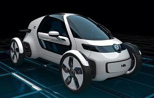 Volkswagen Nils: Single Urban Commuter Concept - Offlimit