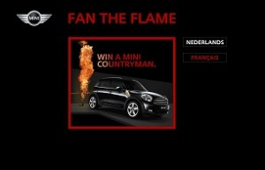 Brand Activation: MINI Countryman Goes up in Flames