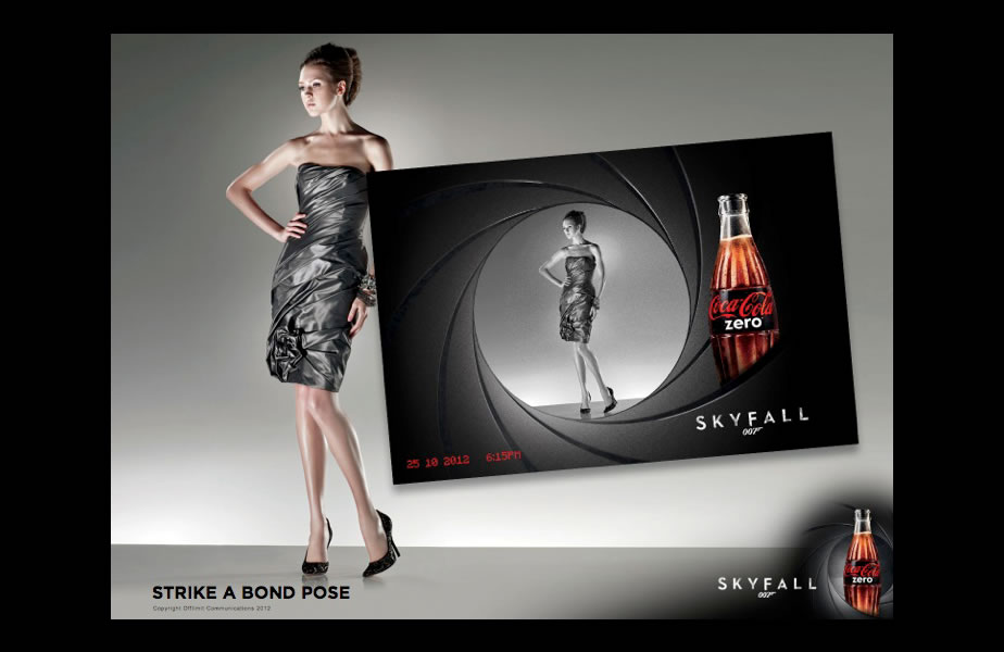 analysis of skyfall and coke zero It has been confirmed by marketing magazine (via skyfall007fan) that coke zero will once again run a 007 themed campaign to coincide with the release of skyfall the article says that the campaign is expected to start in september and involve digital and online activity white stripes frontman jack .