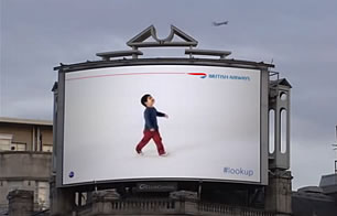 British Airways #lookup Campaign