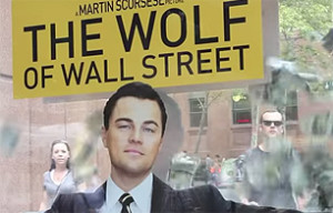 $10,000 Trapped in Bus Shelter for The Wolf of Wall Street