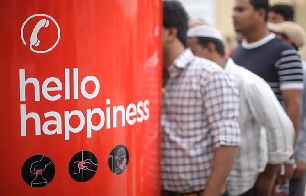 Coca-Cola Hello Happiness - Offlimit