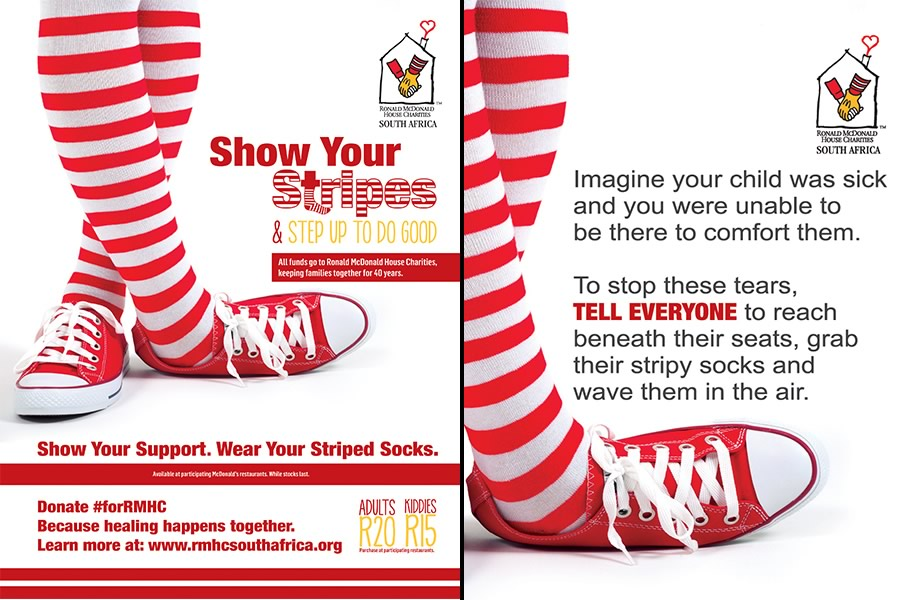 Ronald McDonald House of Charities - Show Us Your Stripes – Baby Prank #forRMHC Awareness