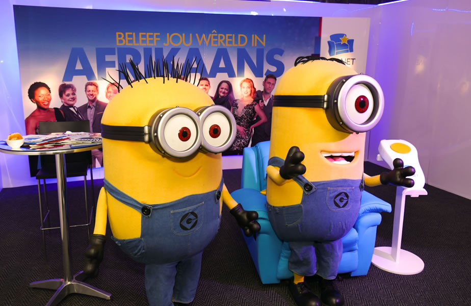 DStv Media Sales event - Minions