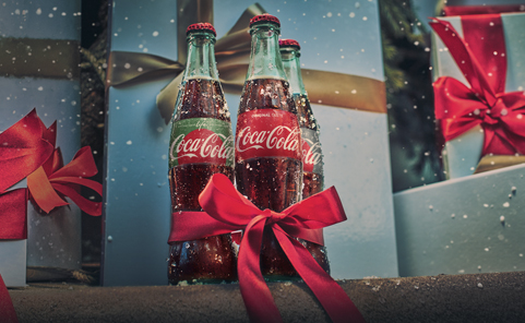 Christmas with Coke