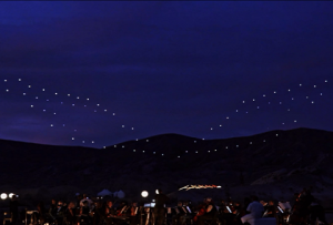 Intel – Drone 100 Lights Up the Palm Springs Sky